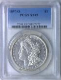 1897-O Morgan Dollar PCGS XF-45
