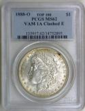 1888-O Morgan Dollar PCGS MS-62; VAM 1A Clashed E; Top 100!