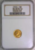 1903 McKinley Gold $1 NGC MS-62
