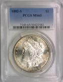 1882-S Morgan Dollar PCGS MS-65