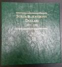 Complete 1979-1999 Susan B. Anthony Dollar Set In Deluxe Littleton Album
