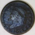 1809 Large Cent G-VG