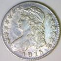 1813 Bust Half Dollar AU-