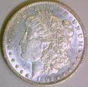 1892 Morgan Dollar; Nice AU