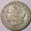 1898-S Morgan Dollar; Nice Original Choice XF