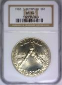 1988-D Olympics Silver Commemorative Dollar NGC MS-69