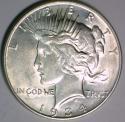 1934-D Peace Dollar Choice AU
