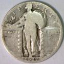 1927-S Standing Liberty Quarter; G; Key Date!