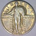 1926-S Standing Liberty Quarter; Nice XF