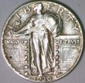 1930 Standing Liberty Quarter; AU