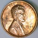 1923 Lincoln Cent; Choice BU Red