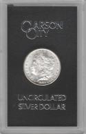 1883-CC GSA Morgan Dollar In Black Box With Card; Choice BU+