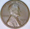 1926-S Lincoln Cent; XF