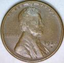 1926-S Lincoln Cent; AU