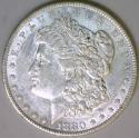 1880-O Morgan Dollar; Nice AU
