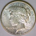 1926 Peace Dollar; Nice Unc.