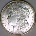 1921-D Morgan Dollar; Lustrous Choice BU