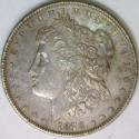 1878 7 T.F. Rev. of '78 Morgan Dollar; VAM-82, R-4; XF