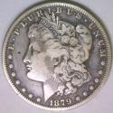1879-S Rev of '78 Morgan Dollar; F