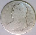 1832 Bust Half Dollar; Nice Lowball