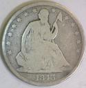 1843-O Seated Liberty Half Dollar; G+