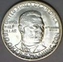 1951 Booker T. Washington Commemorative Half Dollar; Choice BU+