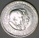 1953-S Washington Carver Commemorative Half Dollar; Gem BU