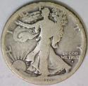 1916-D Walking Liberty Half Dollar; G