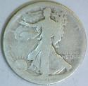 1916-D Walking Liberty Half Dollar; G-