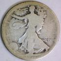 1916 Walking Liberty Half Dollar; G-