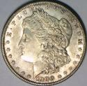1900 Morgan Dollar; Lightly Toned; Unc.