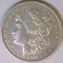 1897-O Morgan Dollar;  XF