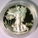 1994 Gem Proof Silver Eagle With Box And COA; Key Date Issue!