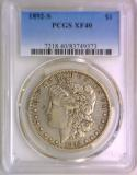1892-S Morgan Dollar PCGS XF-40; Nice Original