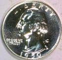1950 Proof Washington Quarter; Gem Proof