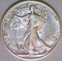 1935 Walking Liberty Half Dollar Nice AU
