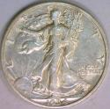 1934-S Walking Liberty Half Dollar AU