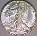 1945-D Walking Liberty Half Dollar Choice AU-BU