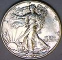 1943-D Walking Liberty Half Dollar Choice AU