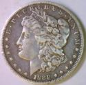 1888-O Oval O Morgan Dollar; VAM-24, R-6, Top 100! VF-XF