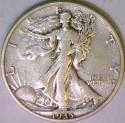 1935-S Walking Liberty Half Dollar VF-XF