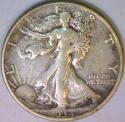 1934-D Walking Liberty Half Dollar XF