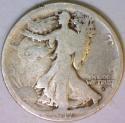 1917-S Obverse Walking Liberty Half Dollar; G
