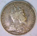 1904 Canada Silver Ten Cents;  Nice Original VF+