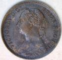 1884 Great Britain Farthing; Unc; Scarce