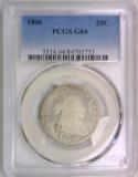 1806 Draped Bust Quarter PCGS G-04