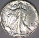 1941-S Walking Liberty Half Dollar; Nice AU