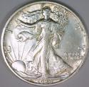 1935 Walking Liberty Half Dollar; AU