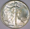 1941 Walking Liberty Half Dollar; Choice BU
