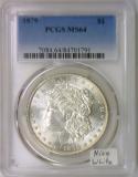 1879 Morgan Dollar PCGS MS-64; Nice White!